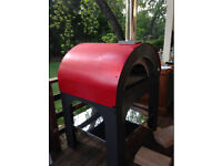 Pulcinella Commercial Wood Fired Pizza Oven by Clementi lightly used for only 2 months