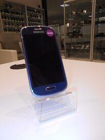 S3 mini, Blue, Unlocked, 8GB, Grade B