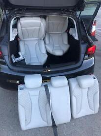 Rs3 heated bucket seats complete with arm rest bargain will fit normal a3