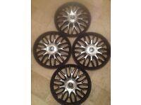 "15 inch wheel trims 15"" sporty hub caps"