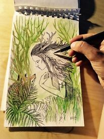Artist is looking for a creative job