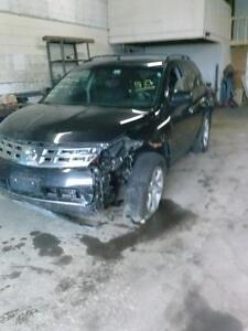 NISSAN MURANO SE 2005 PARTS ONLY!!!!!!
