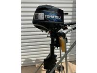 Tohatsu 2.5hp Outboard Boat Engine…. Tender Dingy Yacht Fishing Auxiliary