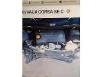 VAUXHALL CORSA D 09-15 1.3 CDTI COMPLETE ENGINE CODE A13DTC / A13DTE
