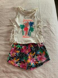 6 girls summer outfits (age 5)