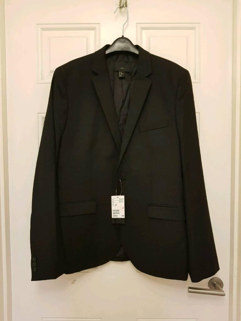 Man suit jacket size 44 new