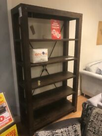 Brand new Natural wood SCS shelving unit can deliver