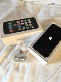 iPhone 5s space grey 16gb Vodafone good condition