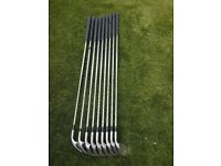 Set of Mizuno Shadow Oversize irons 3 - S/W flex steel shafts