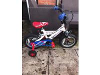 PHANTOM SPIKE BOYS AEROPLANE ✈️ BIKE WITH STABILISERS, excellent condition