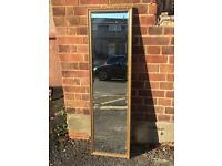 TALL VINTAGE GILTED MIRROR FREE DELIVERY GOOD CONDITION 🇬🇧