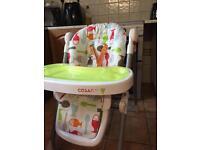 High chair Cosatto