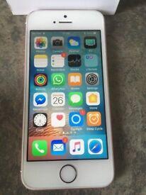Apple iPhone 5SE 16gb Mobile Phone (unlocked) any network + Warranty + BOX