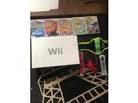Nintendo wii console and games mint condition