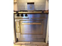 MORICE Gas Range Cooker, Cast Iron and Stainless Steel