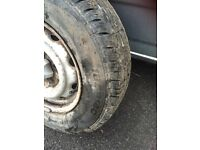 Toyota hi ace spare wheels and bumper
