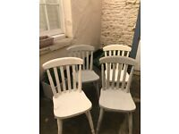 Dining Chairs x 4 - Collect Clifton
