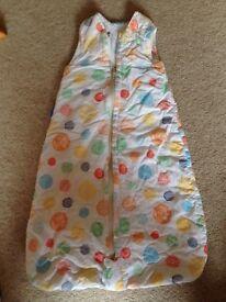 0-6 month Gro travel sleeping bag, 2.5 tog
