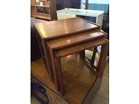 G Plan Nest of Tables Teak Retro Vintage