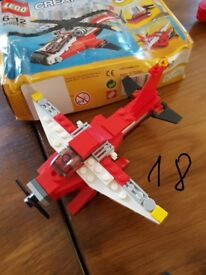 LEGO CITY and CREATOR , 9 sets