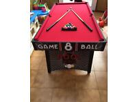 Children's pool table for sals