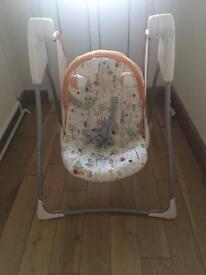 Graco unisex baby swing chair