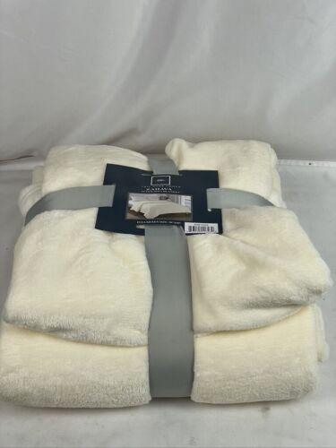 Chic Home Zahava 1 Piece Beige Full/Queen Microplush Blanket