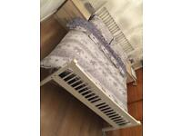Double bed frame with or without memory mattress