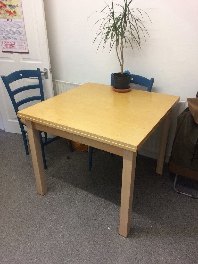 Remarkable Extendable Wooden Dining Table And 4 Chairs In Catford Dailytribune Chair Design For Home Dailytribuneorg