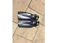Tusa diving/snorkling fins (EU39-42) plus boots (EU39-40)