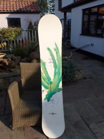 Burton Canyon Snowboard 162cm- Board only
