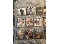 PS3 - PS2 - games-DVDs - Blu-Ray