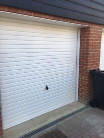 Hormann framed garage door