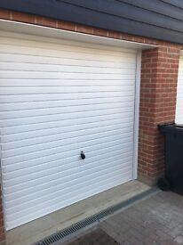 Hormann framed garage door