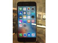 I Phone 6 16GB Unlocked Good Condition Black color
