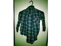 Boys age 5-6 flannel cloth pjs