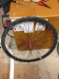 Pair of Joytech Bike Wheels - One is a Flip Flop Fixed Wheel