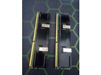 8GB (2*4GB) DDR3 Kingston value 1333mhz RAM (Aftermarket heatspreader)
