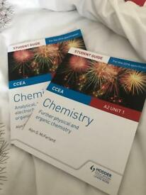 A2 chemistry textbooks