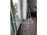 Foldaway clothes airer very light