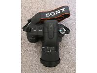 Sony Alpha A200 10.2MP Digital SLR Camera - Black (Kit w/ 18-70mm Lens)