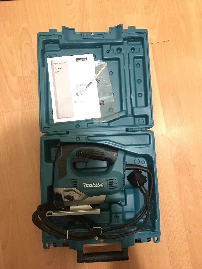 Brand new Makita JV0600K Jigsaw with carry case