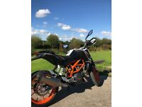 Ktm Duke 390cc w/ Akrapovic Exhaust DEMO