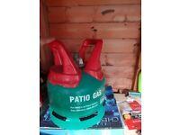 5kg Propane Patio Gas, 80% full