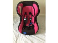 A lovely pink/ black Babystart car seat++ good condition++£25 ONO