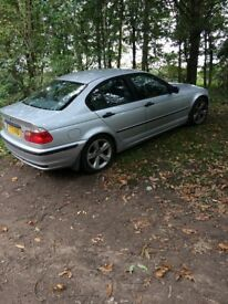2001 Bmw 318 spares or repairs running