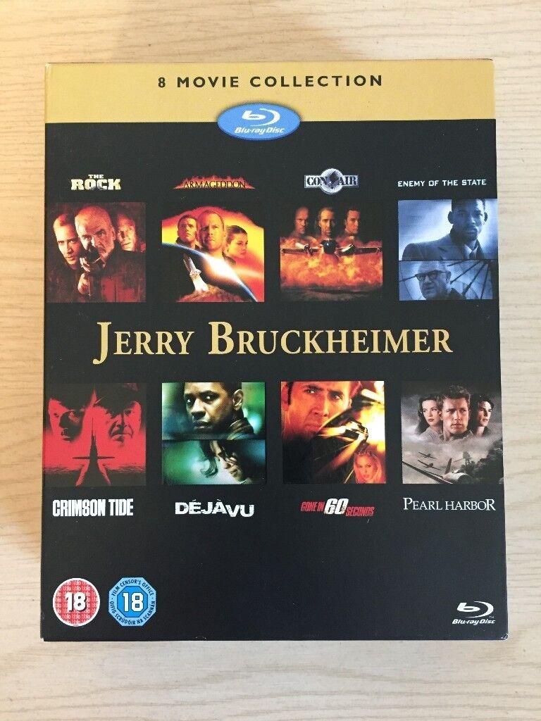 Jerry Bruckheimer 8 Movie boxset (Blu-Ray)