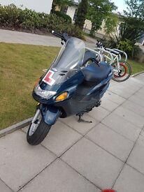 Rare moped