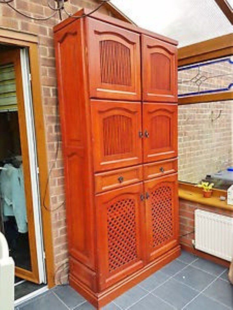 Large 7ft tall kitchen / dining room storage cupboard / cabinet delivery available