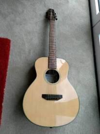 Harley Benton GS travel guitar
